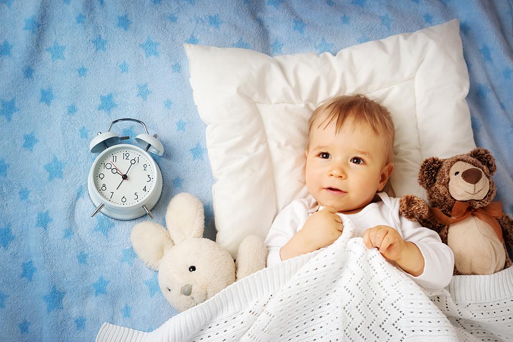 Por quê meu bebê não dorme a noite inteira?